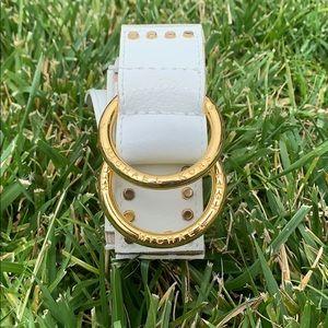VINTAGE Michael Kors Gold Studs Leather Belt